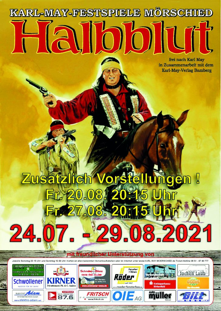 Karl May Festspiel-Plakat
