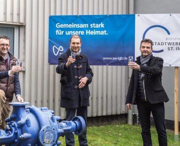 Umweltminister Jost besucht die Stadtwerke St. Ingbert