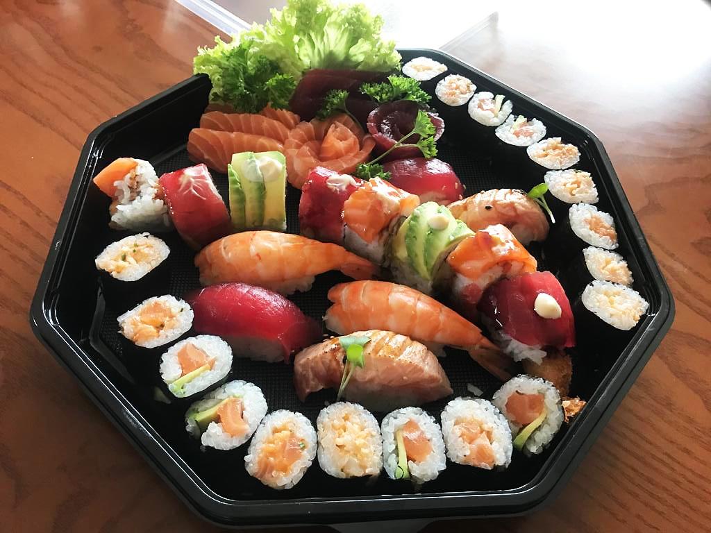 Fisch-Spezialitäten im Asia Gourmet in der Fußgängerzone