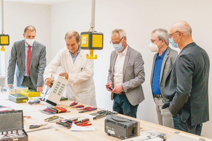 MINT - Eröffnung des Schülerforschungs- und -technikzentrums